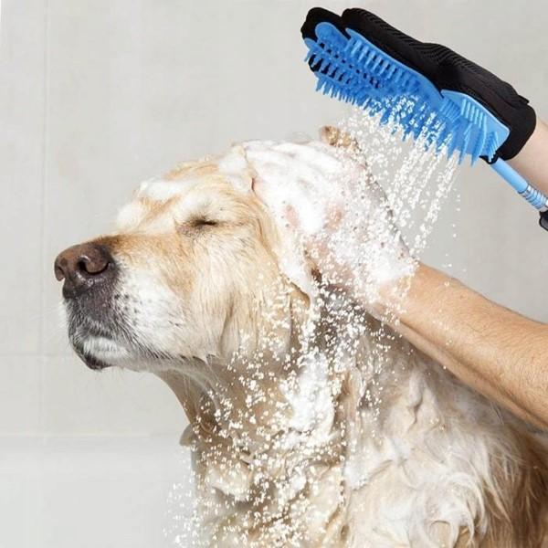 Rekawica do mycia kąpania psa kota grooming glove