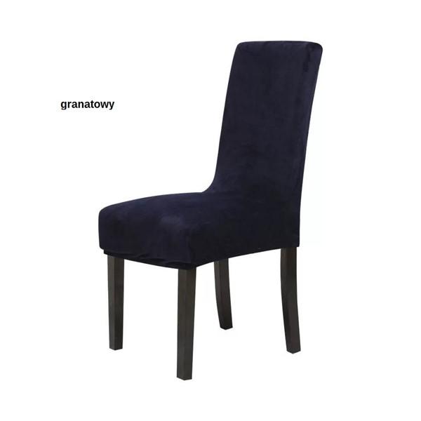 Welurowe Pokrowce na Krzesła
