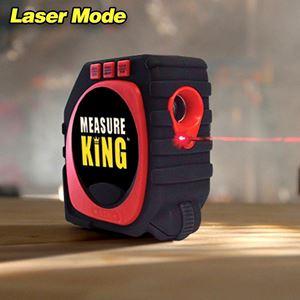 Miarka laserowa elektroniczna 3w1 zwijana 3m