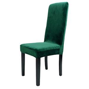 Welurowe Pokrowce na Krzesła - Wysokie Oparcie