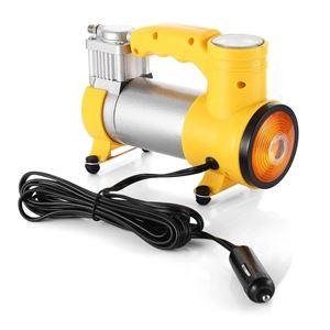 Kompresor Samochodowy Metalowy 12v 150psi + Lampa