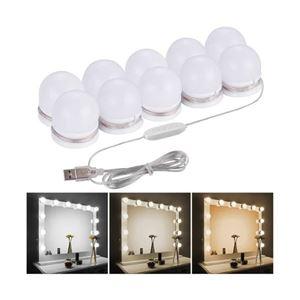 Lampki Światełka na Lustro Toaletki LED do Makijażu
